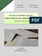 Nicolae CHIRA, s.a., Statica Constructiilor, Structuri Static Nedeterminate, Indrumator