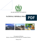 National Mineral Policy