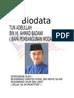 Biodata Paklah