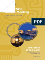 52nd AESGP Annual Meeting