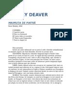 Jeffery Deaver-Maimuta de Piatra