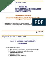 2007-Presentacion curso Multivariante-CEDEX.ppt