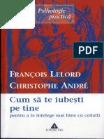 Francois Lelord Si Christophe Andre Cum Sa Te Iubesti Pe Tine Insuti