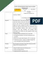 SPO Mutu dan Keselamatan Pasien.doc