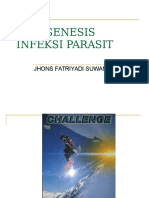 Patogenesis Infeksi Parasit