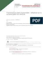 Livre Blanc Dossier Temoin Mecanique