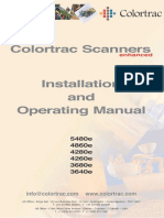 Colortrac Series4e Manual