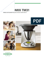 Romanian Thermomix TM31 Instruction Manual RO
