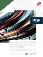Livre Blanc Materiaux Fonctionnels Et Fonctionnalisation de Surfaces