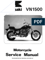 XVS1100 v-Star 1100 (99-00) Service Manual | Carburetor