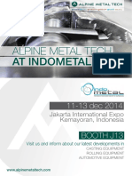 Alpine Metal Tech_Indometal 2014_Invitation Letter
