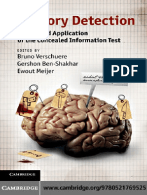 Memory Detection - Theory and Application of the Concealed