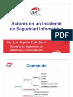 Actores Incidentes de Seguridad Informatcia