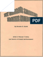 Brooks Kubik - The Dinosaur Strength Training Notebook