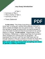 literary essay model 12 18 15