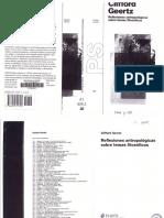 Geertz Clifford Reflexiones Antropológicas Sobre Temas Filosóficos (2000)