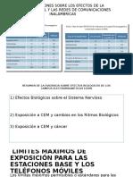INVESTIGACIONES SOBRE LOS EFECTOS DE LA TELEFONÍA MÓVIL.pptx