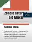 Zonele Naturale Ale Africii.