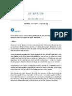 ASCENSION - Décembre 2015 - GEMMA GALGANI (Partie 2)