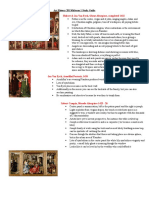 Art History 201 Midterm 1 Study Guide