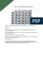 Dishcloth Pattern