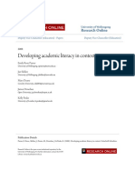 Developing Academic Literacy in Context