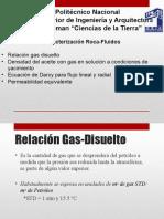 Densidad Del Aceite Con Gas en Solución a Condiciones de Yacimiento