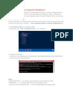 Cara Membuat Ad Hoc Di Windows 8
