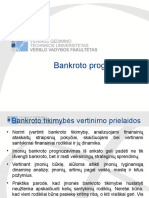 Bankroto modeliai