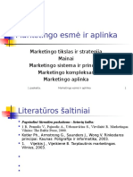 Marketingo Esm Ir Aplinka