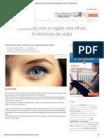 Anatomia Do Olho. As Partes Mais Importantes Dos Olhos