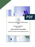 RPP BAHASA INDONESIA KELAS VIII KTSP Bagian 5 Smplb Ypac