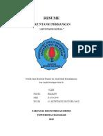 Resume Akuntansi Modal