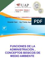 1. Funciones de La Adm y Desarrollo Sostenible