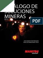 Manitou Mining Catalogue (ES)