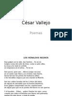 Poemas Vallejo