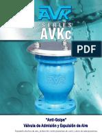 Valvulas de Aire y Anti Golpe de Ariete
