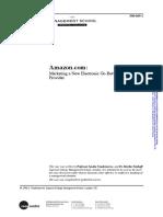 Amazon Service marketing case study