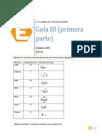 Guia 3 de Quimica (2014)