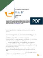 Guia 4 Soluciones (2014)