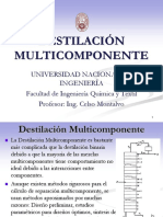 Destilación Multicomponentes