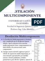 Destilación Multicomponentes