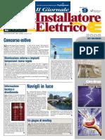 Vetrina Automatismi per chiusure 'Il terminale Gsm per azionare sistemi remoti' - Il Giornale dell'Inst. Elettrico n. 9 - 20 giugno 2005 - Anno 27  - www.intellisystem.it