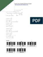 Cifras Simplificadas Para Teclado