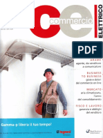 Vetrina Telecomunicazioni 'Ideale per azionare sistemi remoti' - Commercio Elettrico n. 6 - Giugno 2005 - Anno 32  - www.intellisystem.it