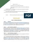 Council Rules of Procedure - 2016 Proposed Amendments