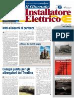 Attualità 'Nuovi settori per il mercato elettrico' di Gianluca Cupellini e Giuliano Mapelli - Il Giornale dell'Installatore Elettrico n. 6 - 25 Aprile 2005 - Anno 27 - www.intellisystem.it