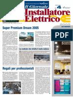 Dossier Soluzioni & prodotti 'Un dispositivo versatile' - Il Giornale dell'Installatore Elettrico n. 4 - 25 Marzo 2005 - Anno 27 - www.intellisystem.it