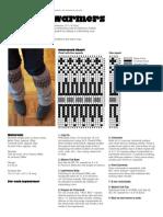 Oslo Leg Warmers Pattern