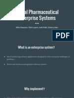 Pharma Supply Chain Term Paper Presentation